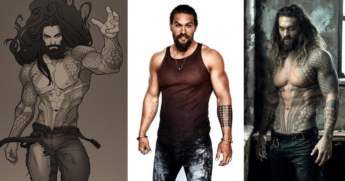 Aquaman tetoválásai