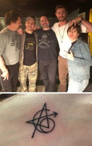 Bosszúállók és a közös tetoválás