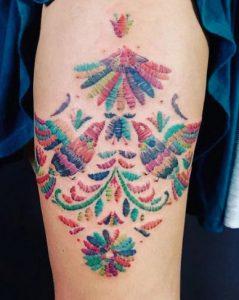 Tabata Muciño tetoválása