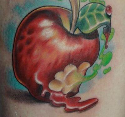 Alma tetoválás