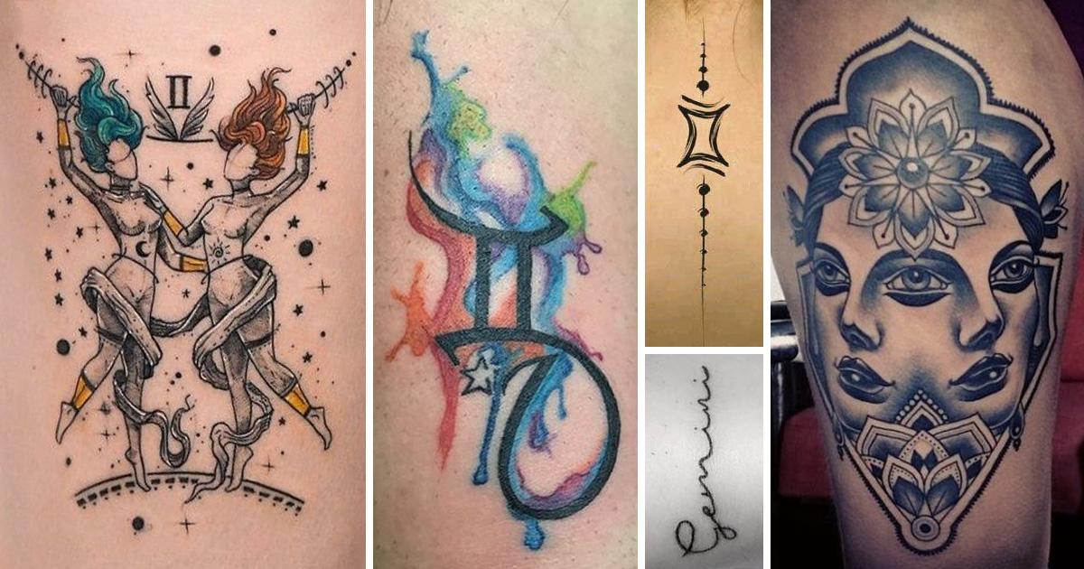 Ikrek tetoválások