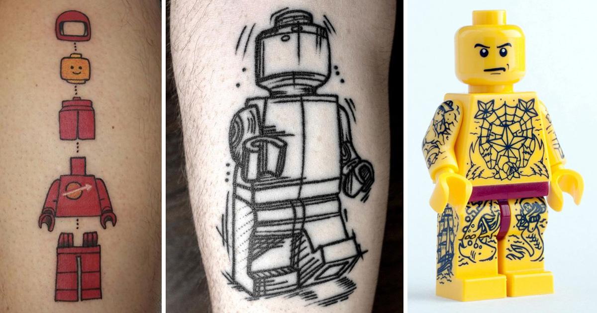 Lego tetoválások