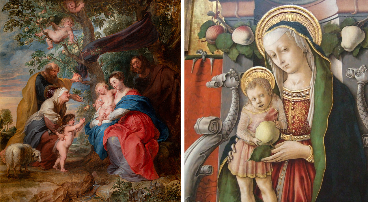 Rubens, Crivelli festményei