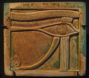Udzsat-szem amulett