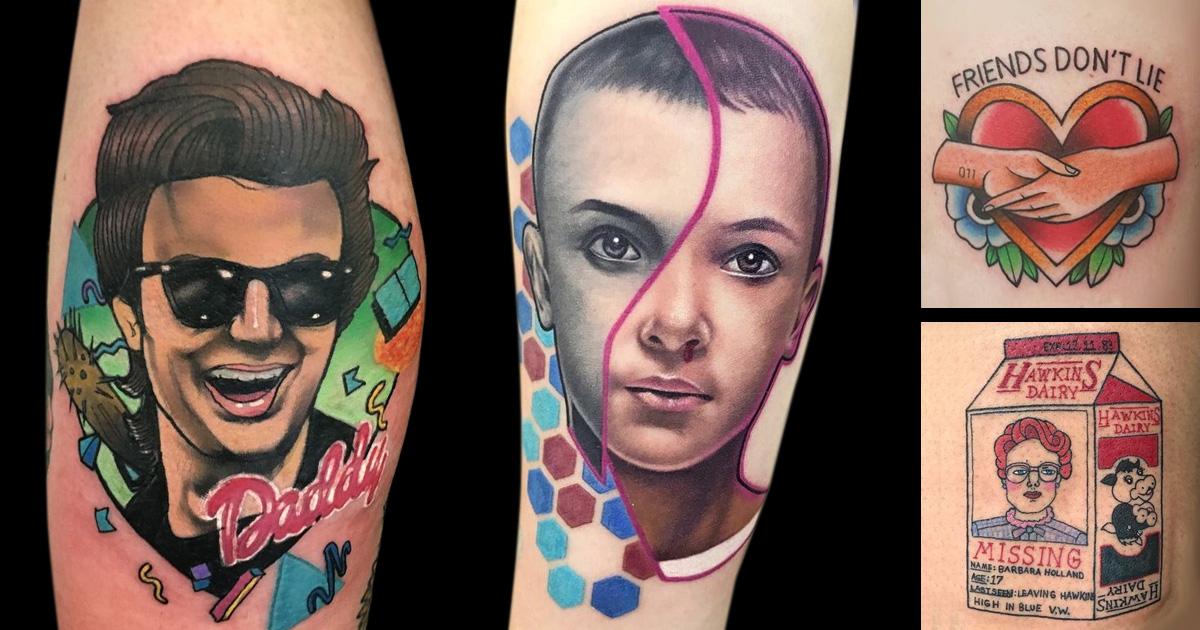 Stranger Things tetoválások
