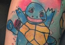 Gyerekrajz tetoválásként
