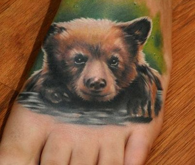 Medve tetoválás