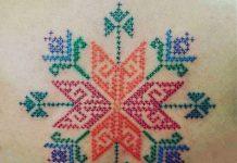 Hímzés tetoválás