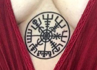 Vegvísir - a viking iránytű