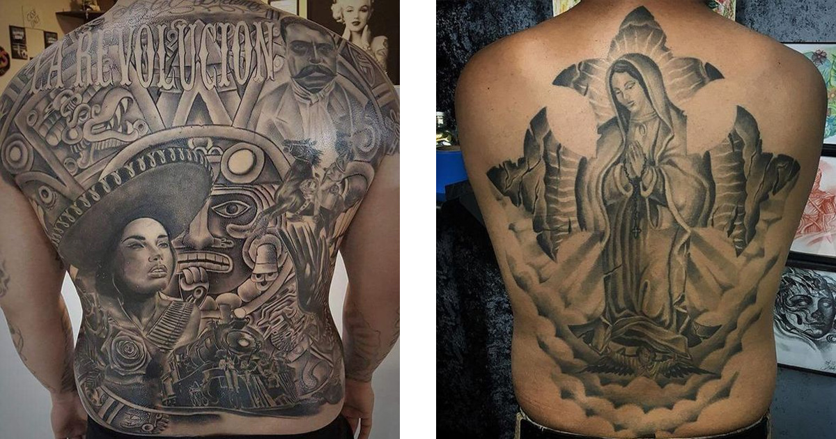 Chicano tetoválások