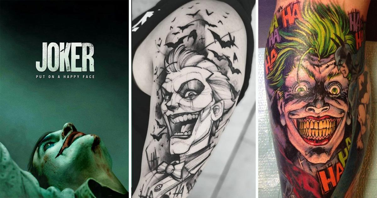 Joker tetoválások