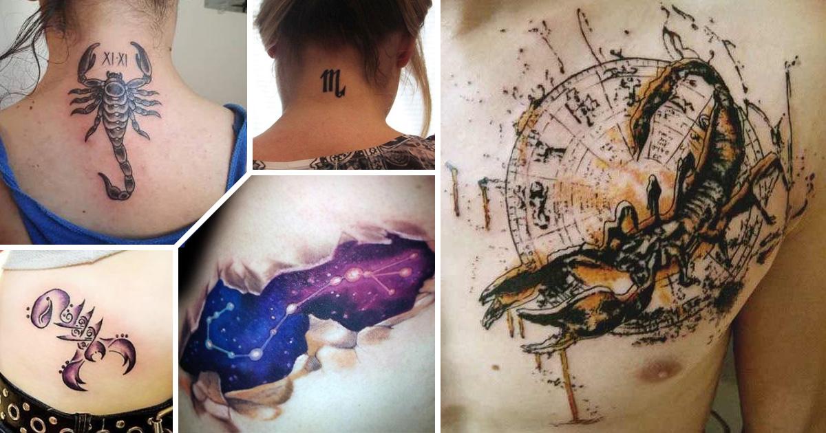 Skorpió tetoválások