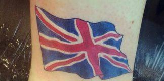 Union Jack tetoválás