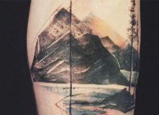 Hegy tetoválás