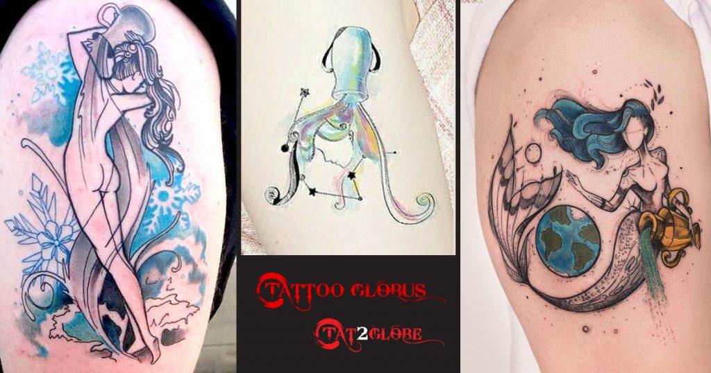 Vízöntő tetoválások