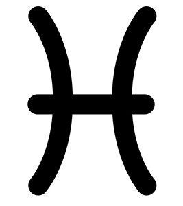 Halak csillagjegy szimbólum