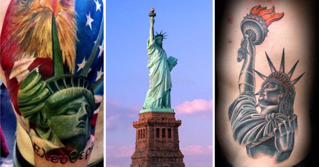 Szabadság-szobor tetoválások