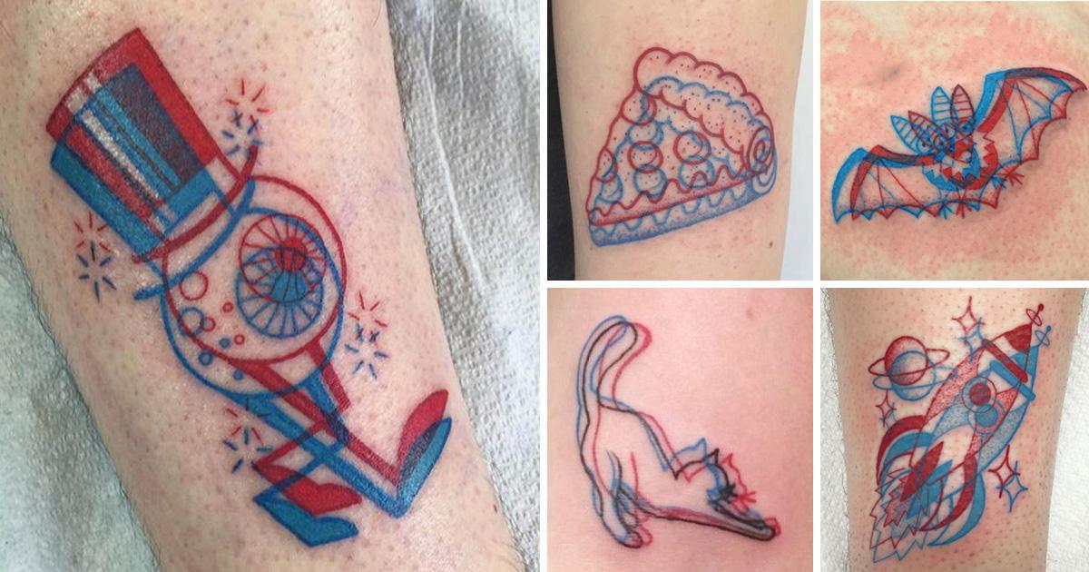3D tetoválások