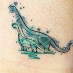 Dinoszaurusz tetoválás